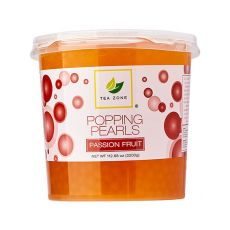 Tea Zone Passion Fruit Popping Pearls (7 lbs), B2055