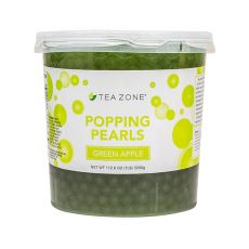 Tea Zone Green Apple Popping Pearls (7 lbs), B2060
