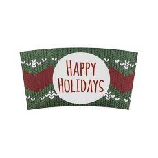 Traditional Cup Jackets - Holiday Sweater - 1,000 ct, KYC5300 (Holiday)