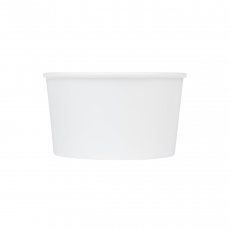 Karat Earth 12oz Eco-Friendly Paper Food Containers - White (114.6mm), KE-KDP12W